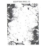 EGYPTIAN WALL 1 STATIC MOUNTED RUBBER STAMP