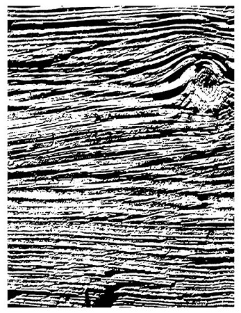 WOODGRAIN 1 STATIC MOUNTED RUBBER STAMP