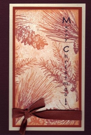 WINTERTIME (5) CLING MOUNTED RUBBER STAMPS