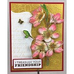 CHERRY BLOSSOM STAMP AND DIE COMBO SET