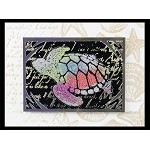 SEA LIFE (5) CLING MOUNTED RUBBER STAMPS