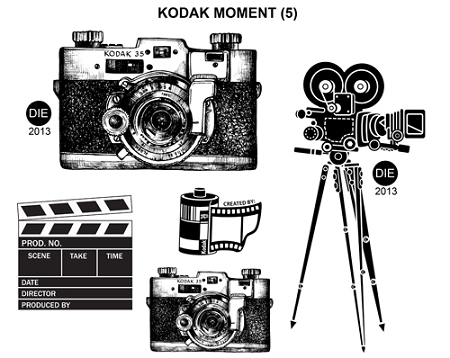 Kodak Moment 5 Static Mounted Rubber Stamps