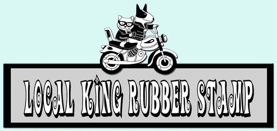 Local King Rubber Stamp