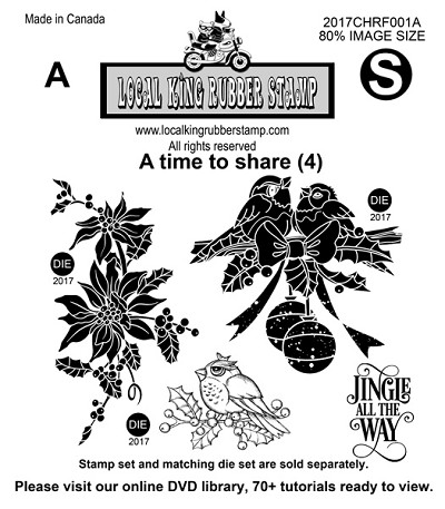 A time to Share (4) EZ mounted rubber stamps
