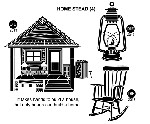 home stead (4) STATIC MOUNTED RUBBER STAMPS