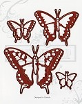 BUTTERFLY EFFECT (4) MATCHING DIES SET