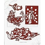 SHAKE A TAIL FEATHER (4) MATCHING DIES SET