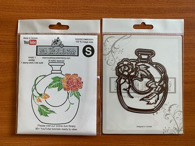 2020 Summer new release Vase 1 Combo set (1stamp+2die-cuts)