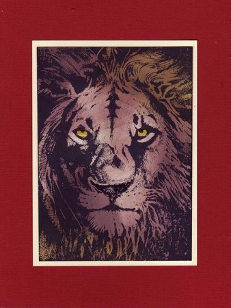 THE KING (3) CLING MOUNTED RUBBER STAMPS