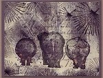 SAFARI ANIMALS (5) CLING MOUNTED RUBBER STAMPS ONE