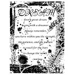 DREAM 1 STATIC MOUNTED RUBBER STAMP