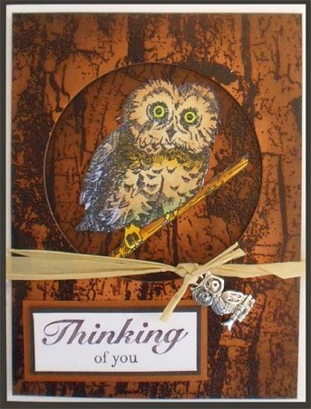KNOCK KNOCK...WHO (5) CLING MOUNTED RUBBER STAMPS