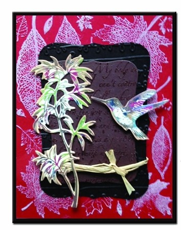 HUMMINGBIRD (4) CLING MOUNT RUBBER STAMPS