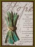GARDEN GREENS (5 ) CLING MOUNT RUBBER STAMPS