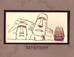 MYSTERY (6) CLING MOUNTED RUBBER STAMPS