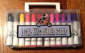 1 boxes Local King Markers 24 colours