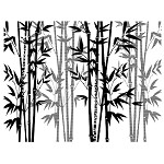 BAMBOO PALACE 1 static mounted background stamp