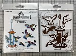 YouTube special Flit and Flight stamps and matching dies combo set