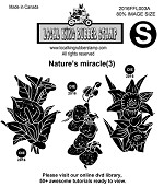 NATURE'S MIRACLE (3) EZ MOUNTED STAMPS