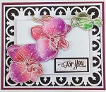 PHALAENOPSIS ORCHID STAMP AND DIE COMBO SET