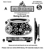 Going To Pot (3) EZ mounted Rubber Stamps