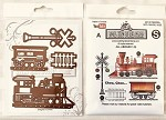 This month special All aboard stamp set and matching die set+ Free shipping